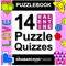 Puzzlebook: 14 Valentine Puzzle Quizzes by The Grabarchuk Family