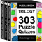 Puzzlebook Trilogy: 303 Puzzle Quizzes by The Grabarchuk Family